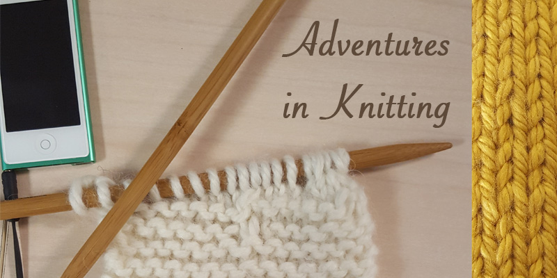 WIP Wednesday: A Crocheter Learns to Knit