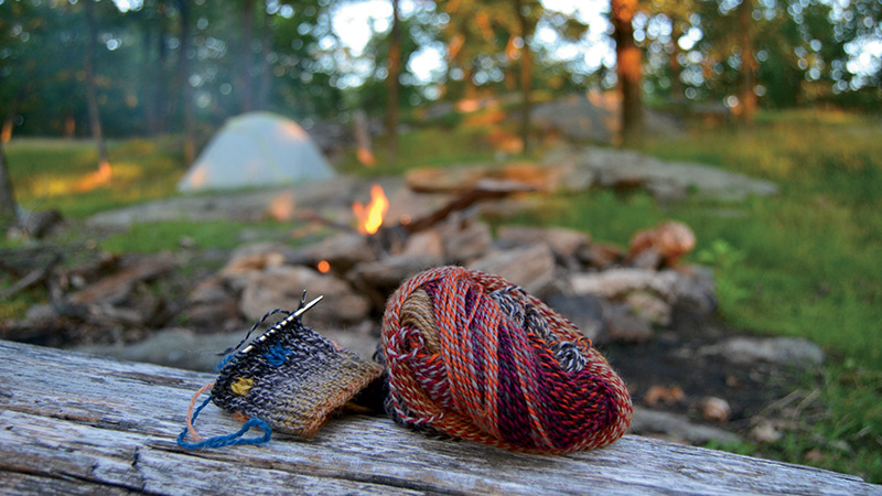 Rocks & Socks: Your Needles Need Nature
