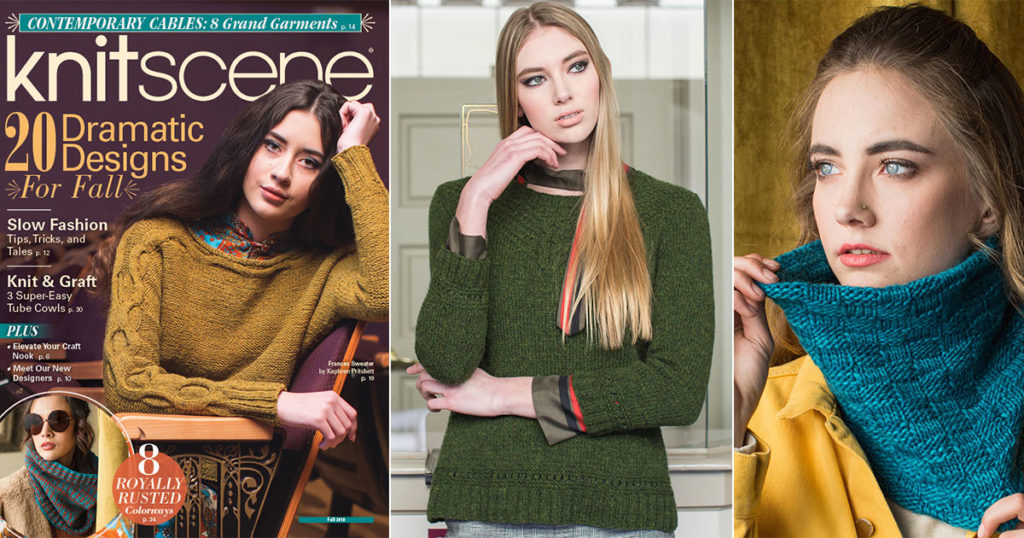 Your Favorite Patterns From knitscene Fall 2018!
