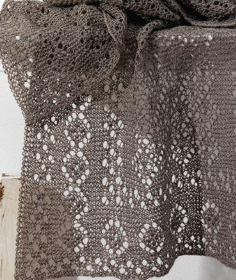 silk gray lace stole piecework magazine