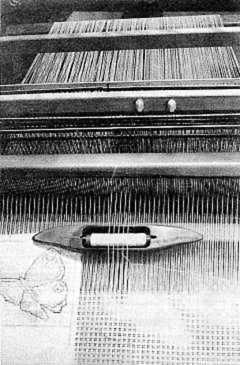 lace-weaving