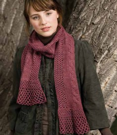 The Lacy Cables Scarf is a crochet and knitting pattern found in our free Exploring Knitting and Crochet Techniques eBook.