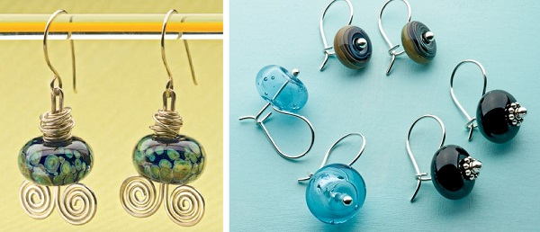 Shelby Foxwell's Turtle Bay earrings and Julie Miller's Ear Wire Evolution ear wires