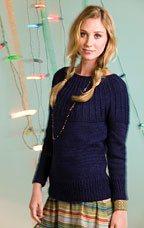 Lapis Yoke Knit Pattern