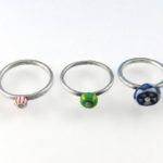 Make Riveted Bead Stack Rings to Show Off Your Favorite Gemstone or Glass Beads
