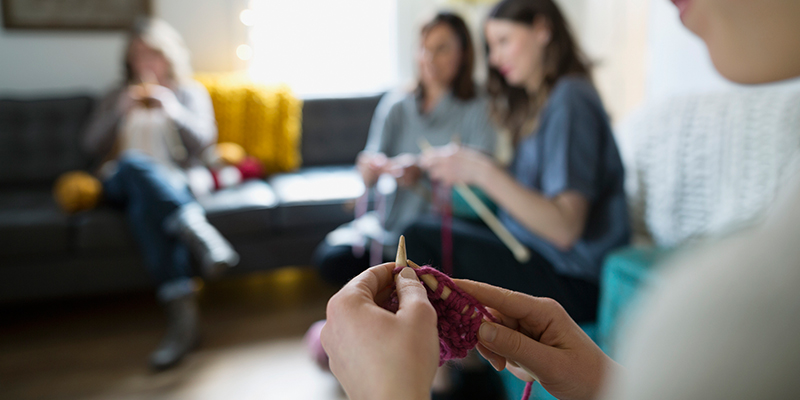 Staff Stories: How Did You Learn to Knit?