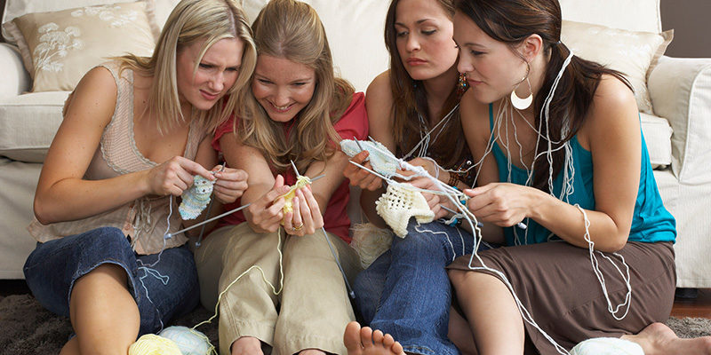 Learn to Knit: We Were All Beginners Once!
