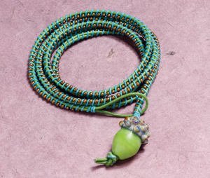 Learn how to make leather bracelets, such as this wrap bracelet, in our FREE beading eBook!