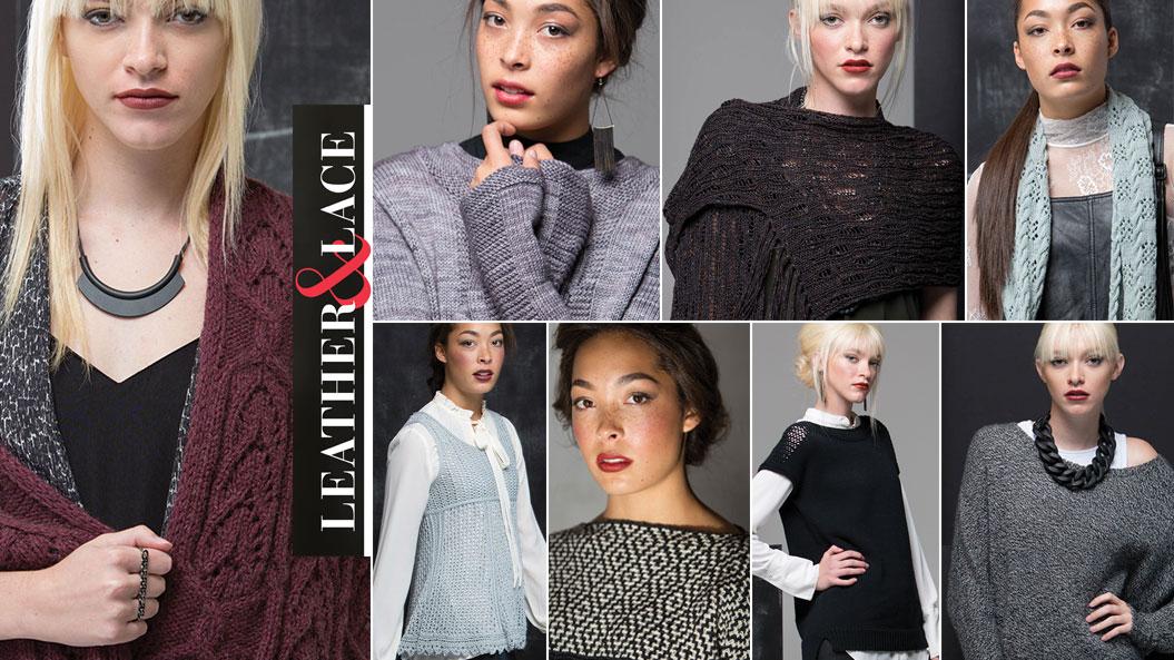 <em>knit.wear</em> Spring/Summer 2017: Leather &#038; Lace