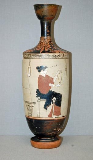 lekythos-pottery