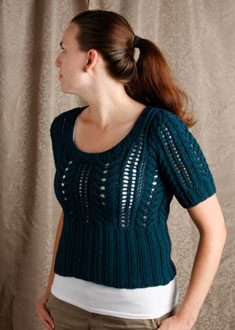 Knitting Gallery - Little Blue Sweater Erin