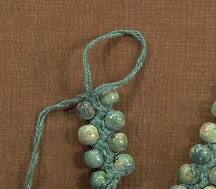 Bead Crochet with Judith Durant: Flirty Flower Necklace & Tunisian stitch bracelet blitz