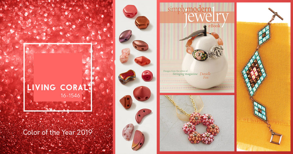 Beading Trend: Pantone Color of the Year 2019