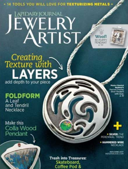 Lapidary Journal Jewelry Artist May/June 2017