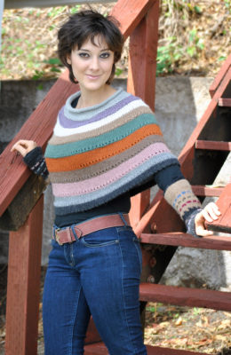 HiKoo Llamor LaCapa and Decolores Poncho/Cuffs Kit
