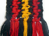 Lucid scarf fringe