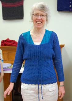 Knitting Gallery - Pretty Little Dolman