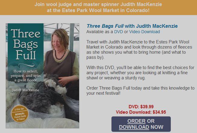 Judith MacKenzie at the Estes Wool Market