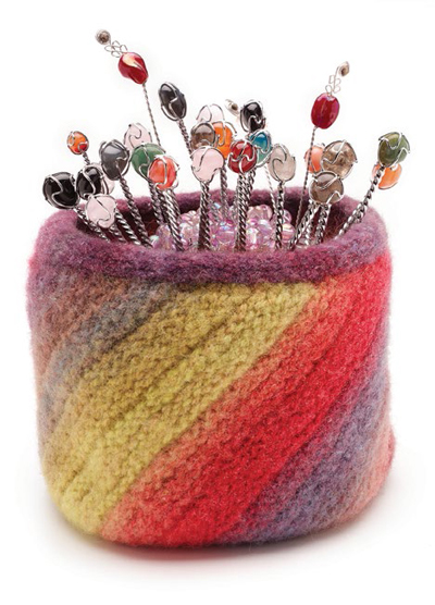 Learn how to make a felt bowl in this free eBook on preparing and felting fiber and yarn.