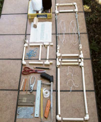 Lear how to make an inkle weaving loom in this free guide.