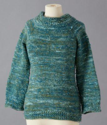 variegated yarn malachite mannequin