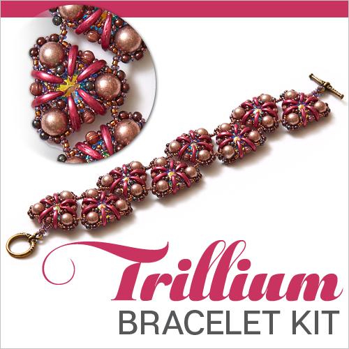 Trillium Bracelet Beading Kit