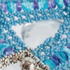 Learn about the newest beading stitch, the hubble stitch!