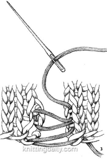 Mattress Stitch Fig3