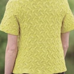 Meadowlark color example knit cardigan