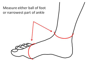 measuring-your-foot-for-siz