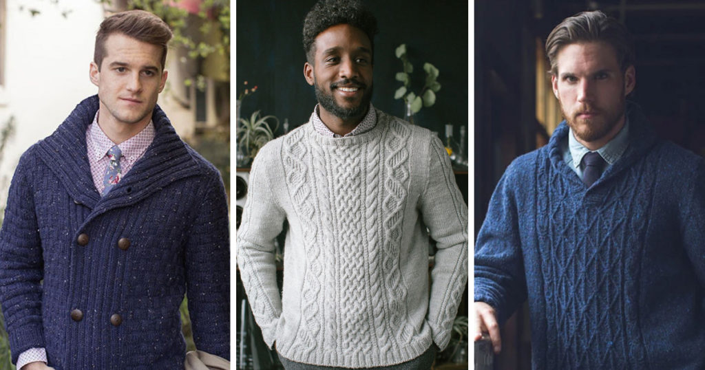 7 Do Not Miss Men's Sweaters for 2019 | Knitting | Interweave