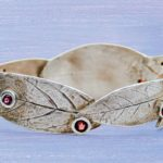 EZ960 Sterling Metal Clay Bracelet with a Hidden Catch