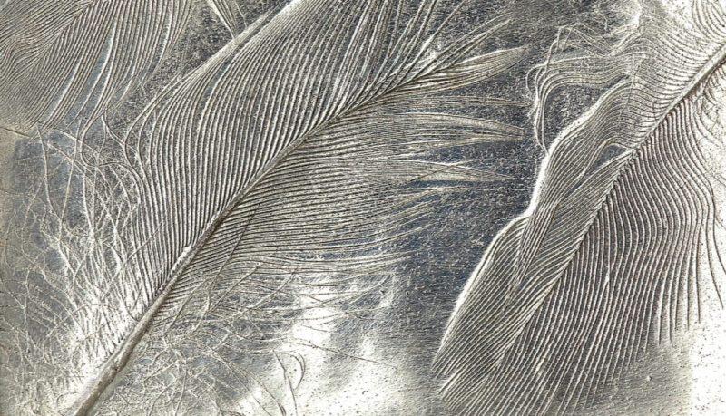 metal clay texture