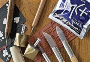 From casting to wax carving and cabochon cutting and everything in between, this FREE guide on over 125 jewelry-making tools is your new reference!