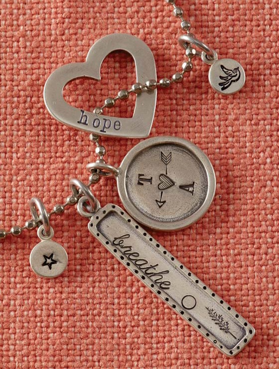 metal stamping jewelry from New Stamped Metal Jewelry by Lisa Niven Kelly and Taryn McCabe
