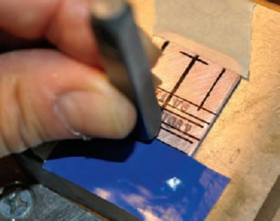 metalsmithing tips for easier metal stamping