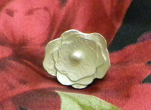 learn to make my silver flower ring