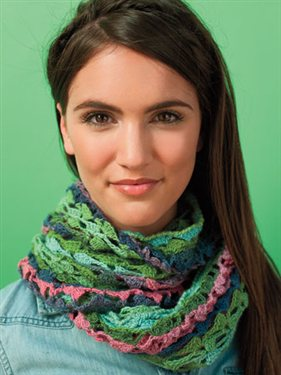Try this free crochet infinity scarf pattern called the Metamorphosis Mobius that's both easy and elegant.