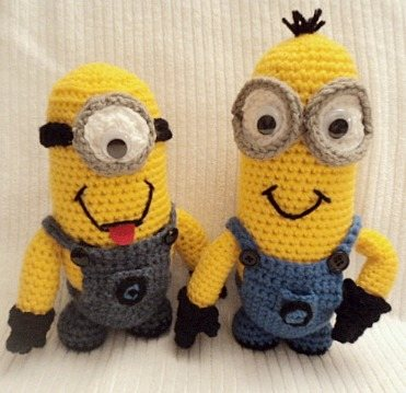 Crochet Patterns Minions Despicable Me : Crochet Despicable Me Minion pattern - Interweave