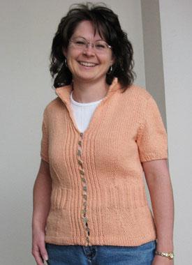 Knitting Gallery - Mirabella Cardigan Debbie
