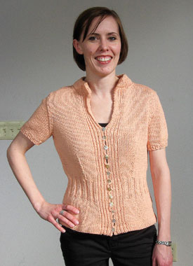 Knitting Gallery - Mirabella Cardigan Laura