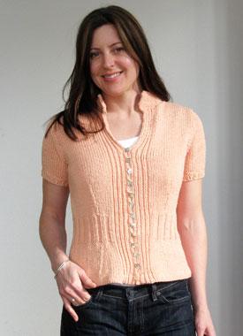 Knitting Gallery - Mirabella Cardigan Sarah