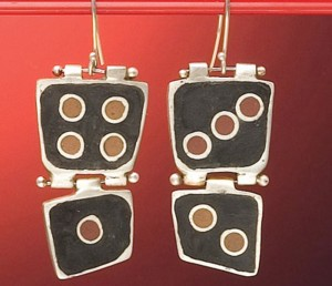 Learn how to apply your jewelry design skills to make these mixed-media earrings.