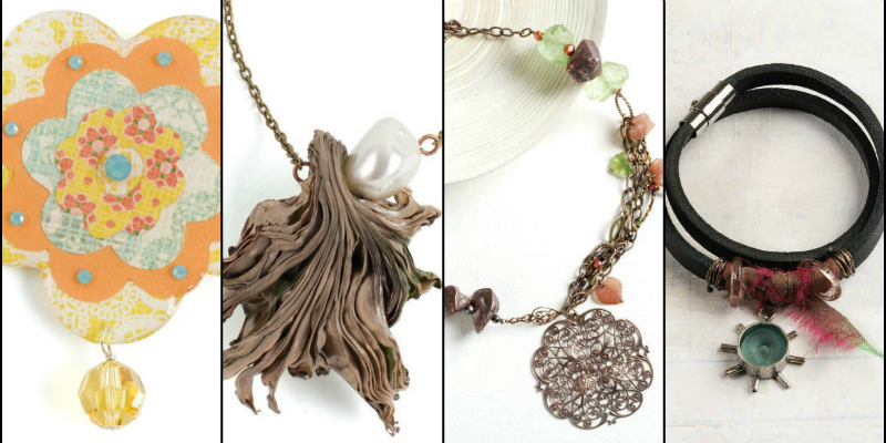 Free Projects: Mixed-Media Jewelry with Beads You'll Love