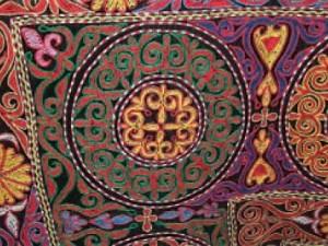 mongolian tapestry