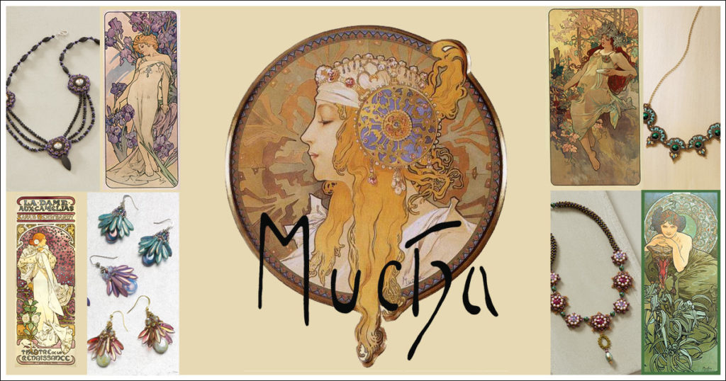 Beading with the Masters: Alphonse Mucha