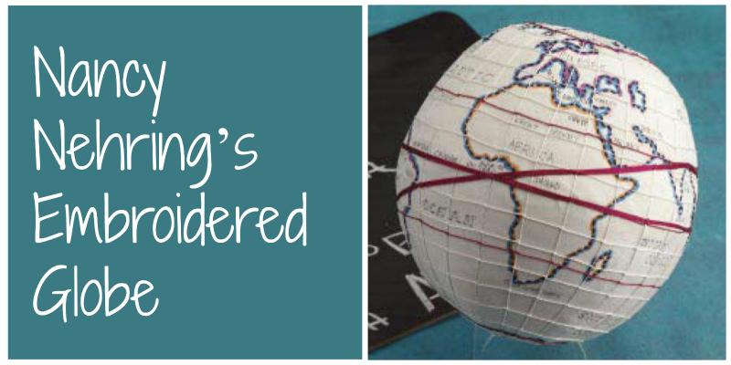 Embroider a Globe