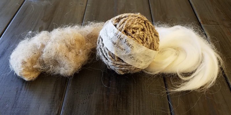 The Most Surprising Natural Fiber You Can Spin Yourself