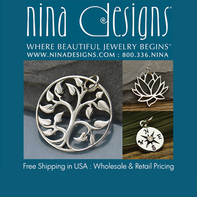 Nina Designs Logo: Top Interweave Beading Site