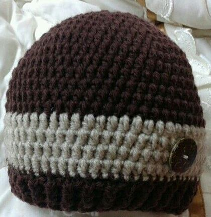 Stripe Crochet Hat Pattern